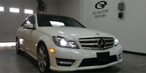 2013 Mercedes Benz C350 4matic, Navi, AMG, Camera, Pano roof