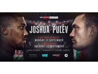Anthony Joshua vs Carlos Takam FLOOR SEATS
