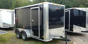 BRAND NEW 6X12 DOUBLE AXLE ENCLOSED CARGO TRAILER