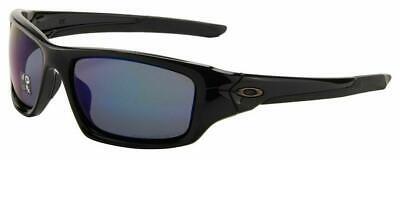 Oakley Valve Sunglasses OO9236-12 Polished Black Frame/Deep Blue Polarized Lens