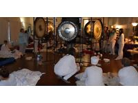 Gong Puja in celebration of the Summer Solstice