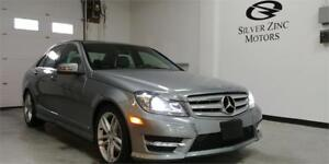 2013 Mercedes C300 4matic, sport, Blind spot, only 40,102kms