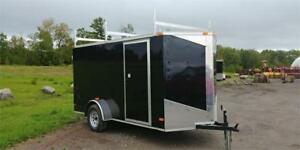 2018 NEW  ENCLOSED 6x12 V-NOSE CARGO TRAILERS