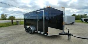 2019 NEW 7X14 V-NOSE ENCLOSED TRAILERS