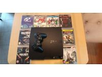 Playstation 3 PS3 with controller and games