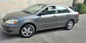 2006 TOYOTA COROLLA AUTOMATIQUE CLIMATISEE 4CYLINDRES PROPRE