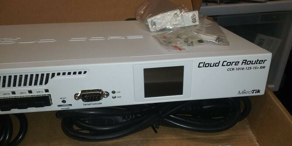 Mikrotik CCR1016-12S-1S Wired Router - $500.00