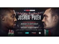 Anthony Joshua vs Kubrat Petrev fight 28th October 2017 in Principality stadium in Cardiff