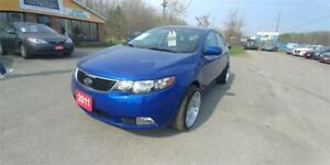 2011 Kia Forte 5-Door Luxury 5 SPEED LEATHER