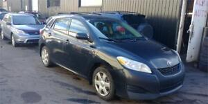 2009 TOYOTA MATRIX AWD AUTOMATIQUE CLIMATISEE 4CYLINDRES