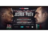 Anthony Joshua Vs Kubrat Pulev - Floor Seats