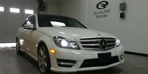 2013 Mercedes Benz C350 4matic, Navi, AMG, Camera, Pano roof