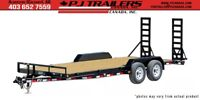 "18' x 5"" Channel Equipment Hauler Trailer, 9.9K GVWR (CEJ) Calgary Alberta Preview"