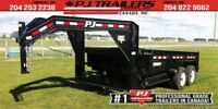 "2019 PJ 16' x 83"" Low Pro Dump Trailer, 14K GVWR Winnipeg Manitoba Preview"