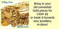 Cash for Gold at King of Trade!