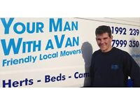 Your Man With A Van - Hertfordshire