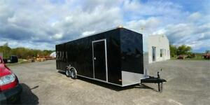 2018 NEW 8,5X24 V-NOSE ENCLOSED TRAILERS