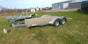 NEW FLATBED 16FT 3500LBS AXLE GALVANIZED 7000LBS