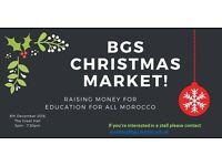 Charity Christmas Market at Bristol Grammar School