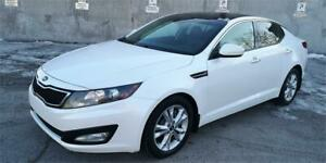 2013 KIA OPTIMA LIMITED ,  CUIR , TOIT PANORA,OUVRANT , CAMERA ,