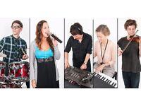 Recruiting Multi-instrumental + Vocal (with piano) tutors