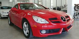 2009 Mercedes Benz SLK 300, hard top convertible, only 33817km