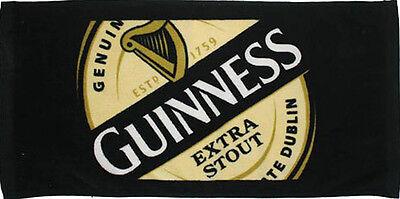 Guinness Label Cotton Bar Towel    (sg)