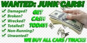 SCRAP YARD CASH FOR CARS HEAVY TRUCKS AUTOMOBILE SALVAGE SAMEDAY