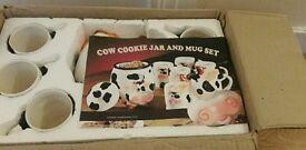 Cookie jar and mug set