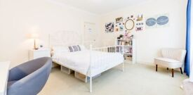 Stunning three double bedroom property is situated within a private conversion minutes to Euston.