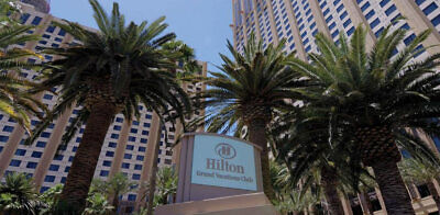 HILTON GRAND VACATION CLUB ON THE BOULEVARD, 4,200 POINTS, ANNUAL, TIMESHARE - $2,450.00