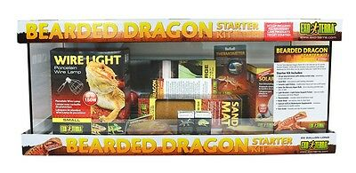Exo Terra Bearded Dragon 20 gal long Starter Kit