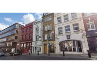 Fantastic studio for rent in Central London - includes Electricity & WiFi