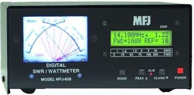 MFJ-828 Digital HF/6M (1.8 - 54MHz) SWR/Wattmeter with Frequency Counter. Buy it now for 246.05