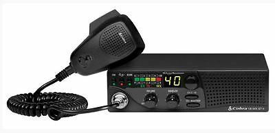 Cobra 18 WX ST II 40-Channel Compact CB Radio with Weather & Soundtracker