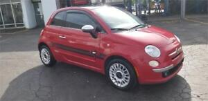 Fiat 500 2013 A/C groupe élect mags toit ouvrant siège en cuir
