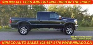 2012 FORD F350 SUPER DUTY LARIAT 4X4   $29.999 All Included