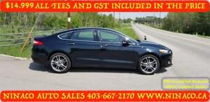 2014 Ford Fusion TITANIUM AWD All included in the Price