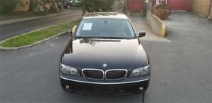 2008 BMW 7 Series 750i FINANCEMENT MAISON 39$ WEEKLY
