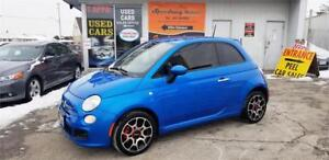 2015 FIAT 500 Sport - One Owner, Automatic, Safety Certified