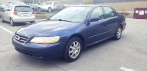 2002 Honda Accord Sdn SE automatic very good shape