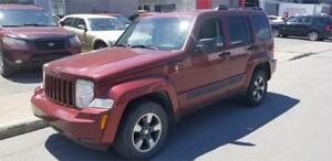 JEEP LIBERTY SPORT 2008 / CRUISE / MAGS / 4X4 / VERY CLEAN!