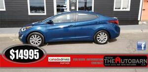 2015 HYUNDAI ELANTRA SE SPORT - moonroof, bluetooth, only 48K