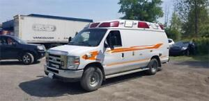 2012 FORD AMBULANCE E350