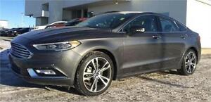 2017 Ford Fusion Titanium AWD Heated Leather~Moonroof $207 B/W