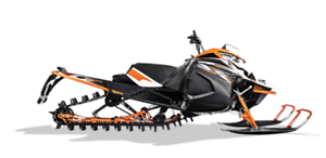 ARCTIC CAT M 8000 SNO PRO ES 153X2.6 BLANC/NOIR/ORANGE 2018