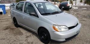Toyota Echo 2001 Automatique          - FINANCEMENT AUTO/CAMION