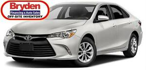 2016 Toyota Camry LE / 2.5L I4 / Auto / FWD **Affordable Unit**