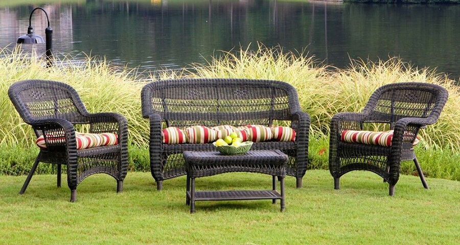 Garden Furniture Vintage the complete guide to antique wicker patio furniture | ebay