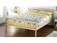 Brand New boxed Flat Packed Pine Shaker Double Bed